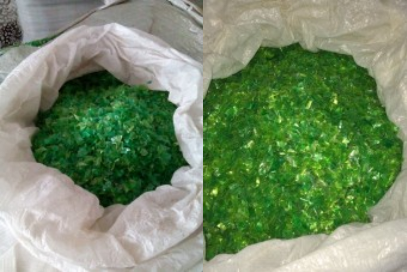 Green PET Flakes